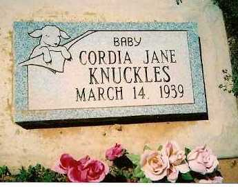 KNUCKLES, CORDIA JANE - Dolores County, Colorado | CORDIA JANE KNUCKLES - Colorado Gravestone Photos