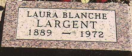 LARGENT, LAURA BLANCHE - Dolores County, Colorado | LAURA BLANCHE LARGENT - Colorado Gravestone Photos