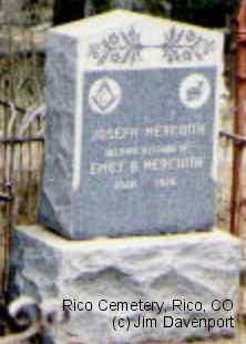 MEREDITH, JOSEPH - Dolores County, Colorado | JOSEPH MEREDITH - Colorado Gravestone Photos