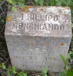 MUNCHIANDO, PHILLIPO - Dolores County, Colorado | PHILLIPO MUNCHIANDO - Colorado Gravestone Photos