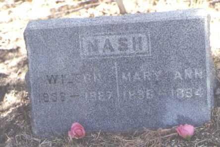 NASH, MARY ANN - Dolores County, Colorado   MARY ANN NASH - Colorado Gravestone Photos