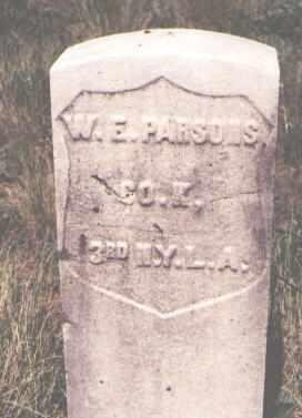 PARSONS, W. E. - Dolores County, Colorado | W. E. PARSONS - Colorado Gravestone Photos