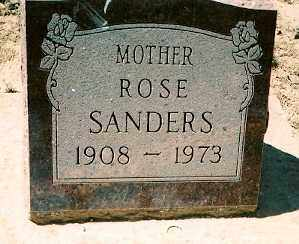 KNOUSE SANDERS, ROSE - Dolores County, Colorado | ROSE KNOUSE SANDERS - Colorado Gravestone Photos