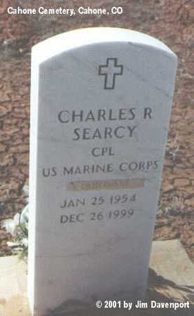 SEARCY, CHARLES R. - Dolores County, Colorado | CHARLES R. SEARCY - Colorado Gravestone Photos