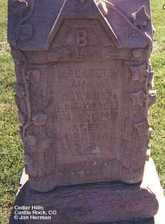 BAUER, MARGARETHA - Douglas County, Colorado | MARGARETHA BAUER - Colorado Gravestone Photos