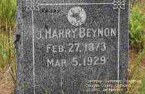 BEYNON, J. HARRY - Douglas County, Colorado | J. HARRY BEYNON - Colorado Gravestone Photos
