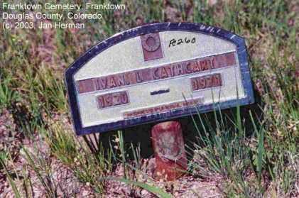 CATHCART, IVAN L. - Douglas County, Colorado | IVAN L. CATHCART - Colorado Gravestone Photos