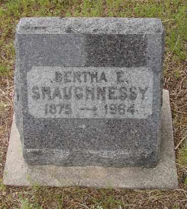 VULGAMOT SHAUGHNESSY, BERTHA E. - Douglas County, Colorado | BERTHA E. VULGAMOT SHAUGHNESSY - Colorado Gravestone Photos
