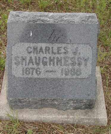 SHAUGHNESSY, CHARLES J. - Douglas County, Colorado | CHARLES J. SHAUGHNESSY - Colorado Gravestone Photos