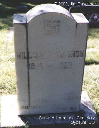 GANNON, WILLIAM D. - Eagle County, Colorado | WILLIAM D. GANNON - Colorado Gravestone Photos