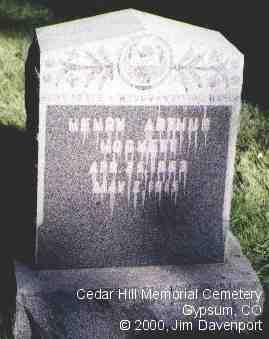 HOCKETT, HENRY ARTHUR - Eagle County, Colorado | HENRY ARTHUR HOCKETT - Colorado Gravestone Photos