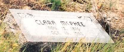 MCPHEE, CLARA - Eagle County, Colorado | CLARA MCPHEE - Colorado Gravestone Photos