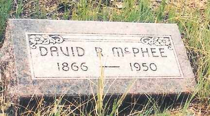 MCPHEE, DAVID ROBINSON - Eagle County, Colorado | DAVID ROBINSON MCPHEE - Colorado Gravestone Photos