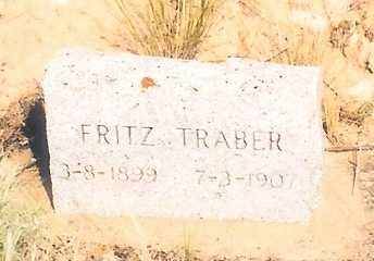 "TRABER, FREDERICK KARL ""FRITZ"" - Eagle County, Colorado 