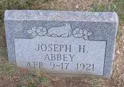 ABBEY, JOSEPH H. - Elbert County, Colorado | JOSEPH H. ABBEY - Colorado Gravestone Photos