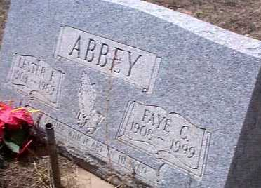 ABBEY, FAYE C. - Elbert County, Colorado | FAYE C. ABBEY - Colorado Gravestone Photos