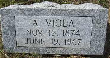 ADAMS, A. VIOLA - Elbert County, Colorado   A. VIOLA ADAMS - Colorado Gravestone Photos