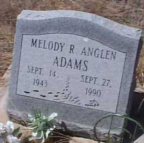 ANGLEN ADAMS, MELODY R. - Elbert County, Colorado | MELODY R. ANGLEN ADAMS - Colorado Gravestone Photos