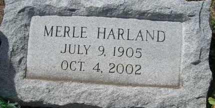 ADAMS, MERLE HARLAND - Elbert County, Colorado | MERLE HARLAND ADAMS - Colorado Gravestone Photos