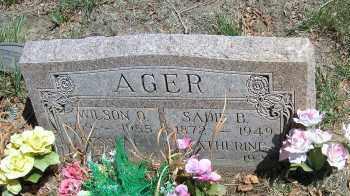 AGER, WILSON O. - Elbert County, Colorado | WILSON O. AGER - Colorado Gravestone Photos