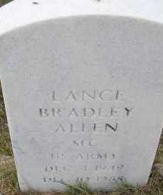 ALLEN, LANCE BRADLEY - Elbert County, Colorado | LANCE BRADLEY ALLEN - Colorado Gravestone Photos