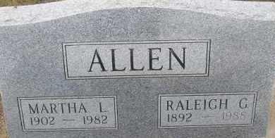 ALLEN, RALEIGH G. - Elbert County, Colorado   RALEIGH G. ALLEN - Colorado Gravestone Photos