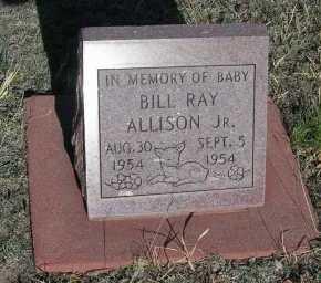 ALLISON, BILL RAY, JR. - Elbert County, Colorado | BILL RAY, JR. ALLISON - Colorado Gravestone Photos