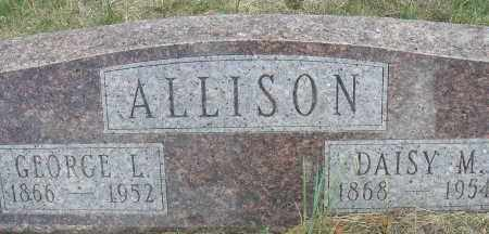 ALLISON, DAISY M. - Elbert County, Colorado | DAISY M. ALLISON - Colorado Gravestone Photos