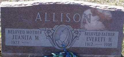 ALLISON, EVERETT H. - Elbert County, Colorado | EVERETT H. ALLISON - Colorado Gravestone Photos