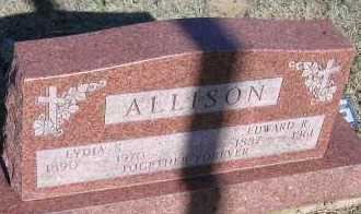 ALLISON, EDWARD R. - Elbert County, Colorado | EDWARD R. ALLISON - Colorado Gravestone Photos