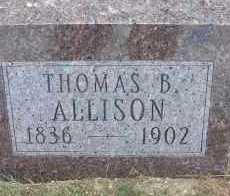 ALLISON, THOMAS B. - Elbert County, Colorado | THOMAS B. ALLISON - Colorado Gravestone Photos