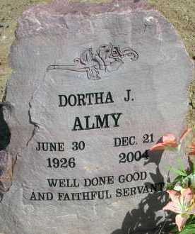 ALMAY, DORTHA J. - Elbert County, Colorado   DORTHA J. ALMAY - Colorado Gravestone Photos