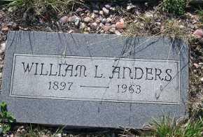 ANDERS, WILLIAM L. - Elbert County, Colorado | WILLIAM L. ANDERS - Colorado Gravestone Photos