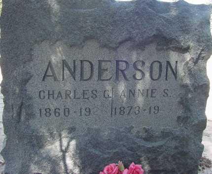 ANDERSON, CHARLES G. - Elbert County, Colorado | CHARLES G. ANDERSON - Colorado Gravestone Photos