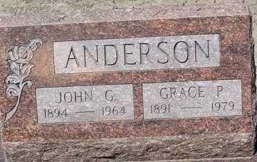 ANDERSON, GRACE P. - Elbert County, Colorado | GRACE P. ANDERSON - Colorado Gravestone Photos