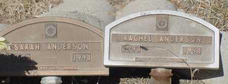 ANDERSON, RACHEL - Elbert County, Colorado | RACHEL ANDERSON - Colorado Gravestone Photos