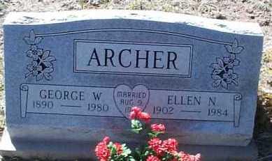 ARCHER, GEORGE W. - Elbert County, Colorado | GEORGE W. ARCHER - Colorado Gravestone Photos