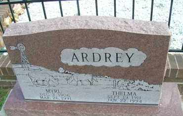 ARDREY, MYRL - Elbert County, Colorado | MYRL ARDREY - Colorado Gravestone Photos