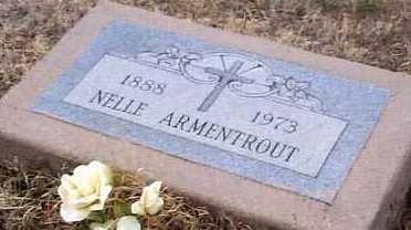 ARMENTROUT, NELLE - Elbert County, Colorado | NELLE ARMENTROUT - Colorado Gravestone Photos