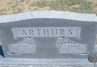 ARTHURS, GARNER - Elbert County, Colorado | GARNER ARTHURS - Colorado Gravestone Photos