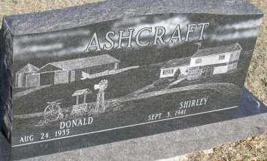 ASHCRAFT, DONALD - Elbert County, Colorado   DONALD ASHCRAFT - Colorado Gravestone Photos