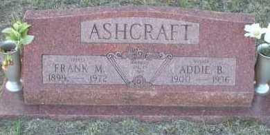 ASHCRAFT, FRANK M. - Elbert County, Colorado | FRANK M. ASHCRAFT - Colorado Gravestone Photos