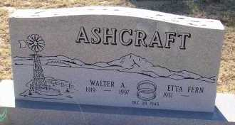 ASHCRAFT, ETTA FERN - Elbert County, Colorado | ETTA FERN ASHCRAFT - Colorado Gravestone Photos