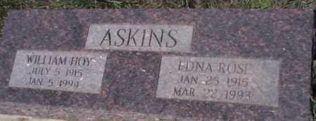ASKINS, EDNA ROSE - Elbert County, Colorado   EDNA ROSE ASKINS - Colorado Gravestone Photos