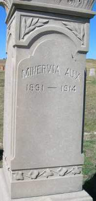 AUX, MINERVIA - Elbert County, Colorado | MINERVIA AUX - Colorado Gravestone Photos