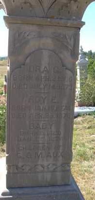 AUX, BABY - Elbert County, Colorado   BABY AUX - Colorado Gravestone Photos