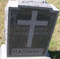 BAGINSKI, JOHN P. - Elbert County, Colorado   JOHN P. BAGINSKI - Colorado Gravestone Photos
