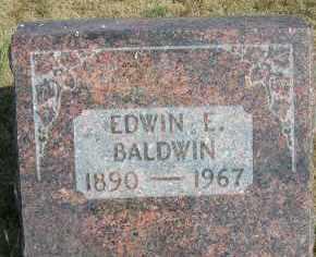 BALDWIN, EDWIN E. - Elbert County, Colorado | EDWIN E. BALDWIN - Colorado Gravestone Photos