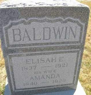 BALDWIN, AMANDA - Elbert County, Colorado | AMANDA BALDWIN - Colorado Gravestone Photos