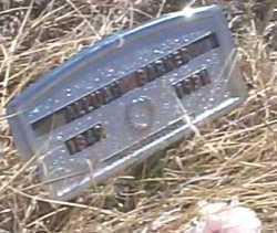 BARKER, ALLUAH - Elbert County, Colorado | ALLUAH BARKER - Colorado Gravestone Photos